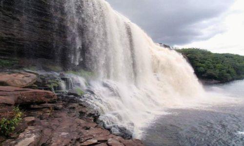 Zdjecie WENEZUELA / Gran Sabana / Canaima National Park / wodospad