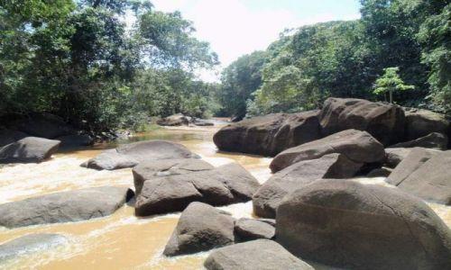 Zdjęcie WENEZUELA / Delta Orinoko / Guyana / Kamienie