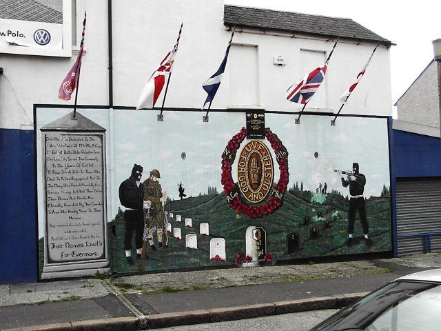 Zdjęcia: Belfast, Grafitti w Belfaście, WIELKA BRYTANIA