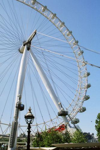 Zdjęcia: Londyn, Londyn, wielkie koło od roweru :-), WIELKA BRYTANIA