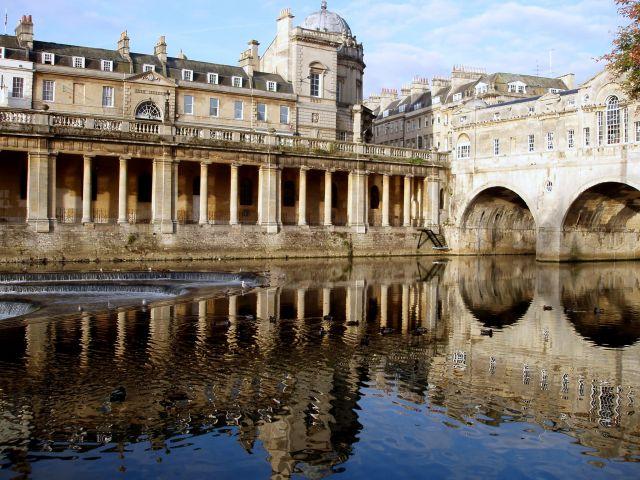 Zdjęcia:  centrum miasta, Poludniowo-zachodnia Anglia , Bath, WIELKA BRYTANIA