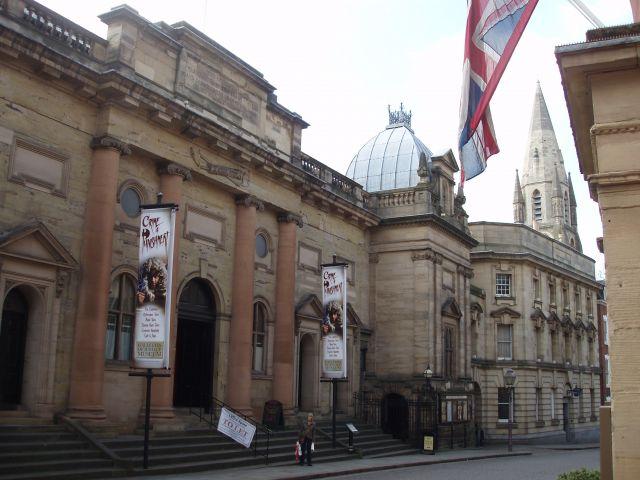 Zdjęcia: centrum Nottingham, East Midlands, Nottingham, WIELKA BRYTANIA