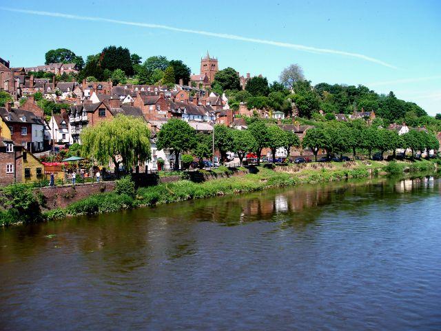 Zdjęcia: historyczne miasteczko Bridgenorth, Shropshire pogranicze z Walia, Bridgenorth-Anglia, WIELKA BRYTANIA
