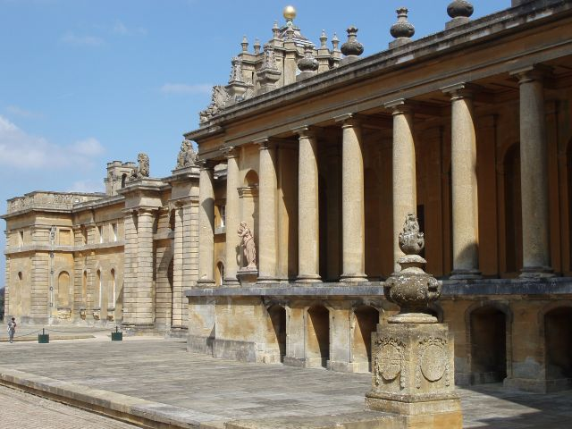 Zdjęcia: Palac Blenheim, Srodkowa Anglia, Blenheim Palace, WIELKA BRYTANIA