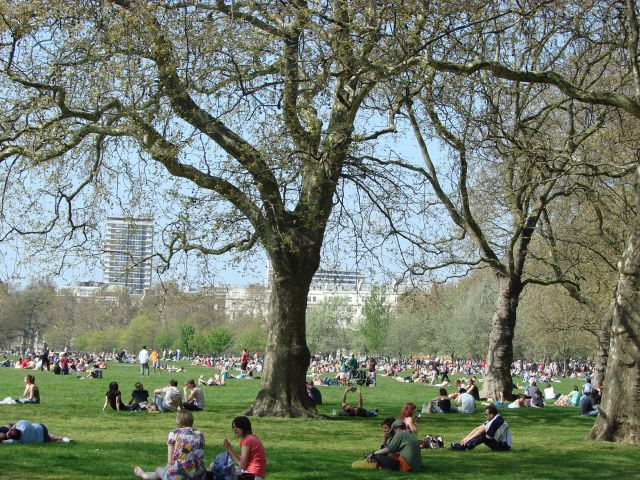 Zdj�cia: Londyn, Hyde Park, WIELKA BRYTANIA