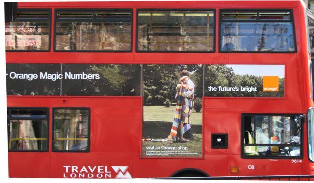 Zdjęcia: Londyn, London bus, WIELKA BRYTANIA