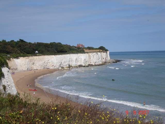Zdjęcia: Broadstairs, płd-wsch Anglia, angielska plaża(Broadstairs), WIELKA BRYTANIA