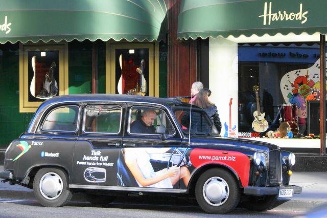 Zdjęcia: Londyn, taxi, WIELKA BRYTANIA