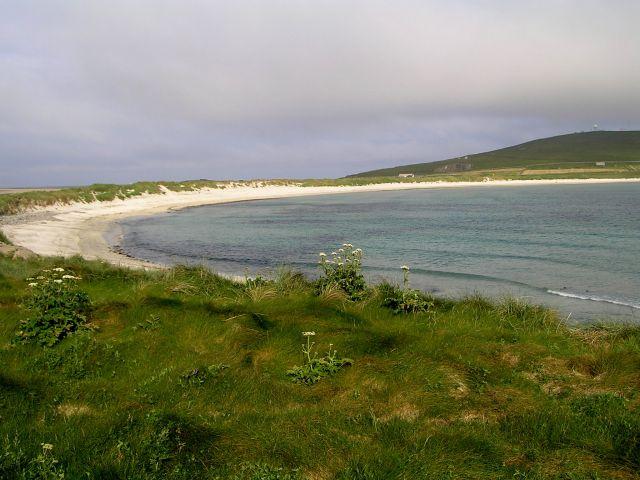 Zdjęcia: Szetlandy, Szkocja, Widok na Sumburgh Head, WIELKA BRYTANIA