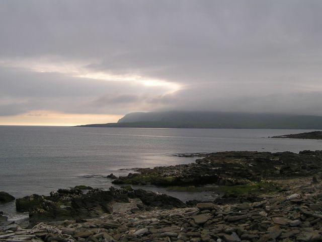 Zdjęcia: Szetlandy, Szkocja, Magiczny wieczór w okolicach Sumburgh Head., WIELKA BRYTANIA