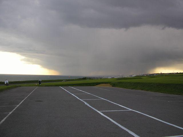 Zdjęcia: BRIGHTON, ANGLIA, burza nad Kanalem La Manche, WIELKA BRYTANIA