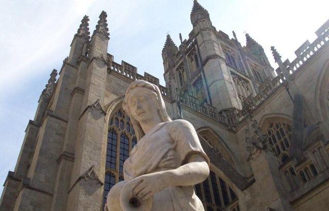 Zdjęcia: Bath , Katedra w opactwie Bath Abbey, WIELKA BRYTANIA