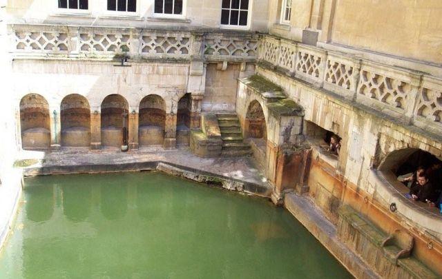 Zdjęcia: Bath, Łaźnie rzymskie, WIELKA BRYTANIA