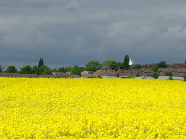 Zdjęcia: okolice  Dewsbury, West-Yorkshire, zbiera sie na wiosenna burze, WIELKA BRYTANIA