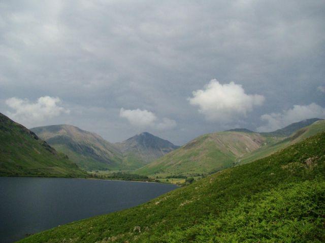 Zdj�cia: Wasdale Head, Lake District/ Cumbria, teraz juz trzy ,,wulkany,,, WIELKA BRYTANIA