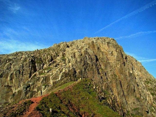 Zdjęcia: rejon Scafell Pike - pomiedzy dwoma wierzcholkami, Cumbria / Lake District, koniec szlaku ? , WIELKA BRYTANIA