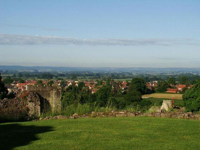 Zdj�cia: Pikering, North Yorkshire, takie widoki mieli dawni rycerze   (Pikering ), WIELKA BRYTANIA