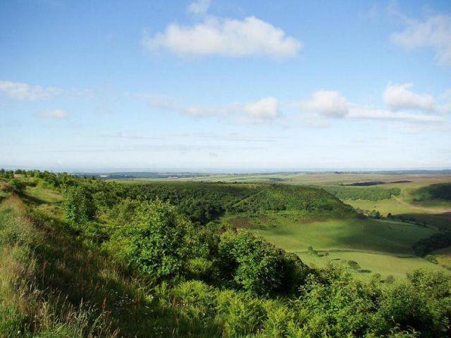 Zdj�cia: North York Moors National Park, North York Moors, Hole of Horcum, WIELKA BRYTANIA