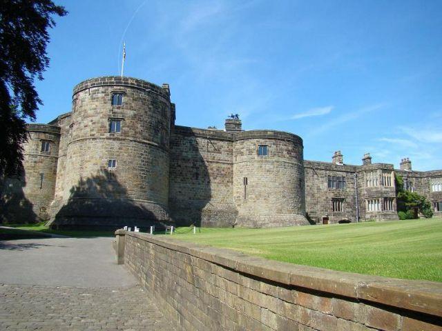 Zdjęcia: Skipton, West Yorkshire, zamek w  Skipton, WIELKA BRYTANIA