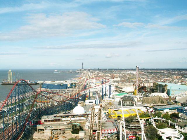 Zdjęcia: Blackpool, Lancashire, Panorama Blackpool, WIELKA BRYTANIA