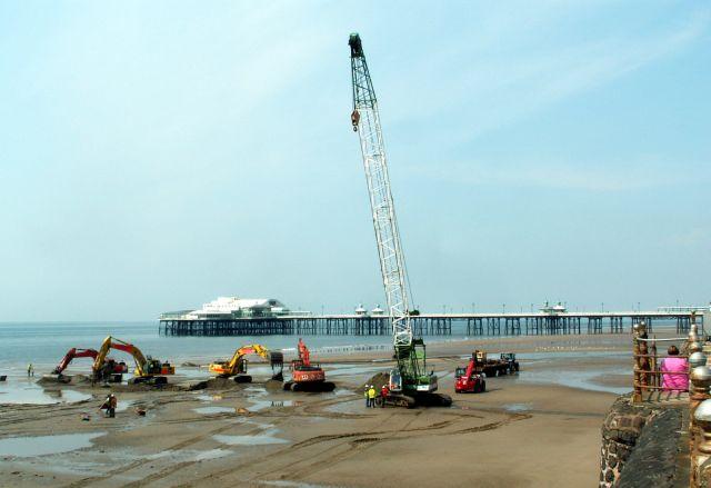 Zdjęcia: Blackpool, Lancashire, Plaża, WIELKA BRYTANIA