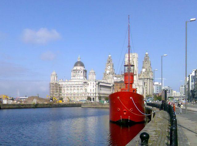 Zdjęcia: Liverpool, Anglia, Port, WIELKA BRYTANIA