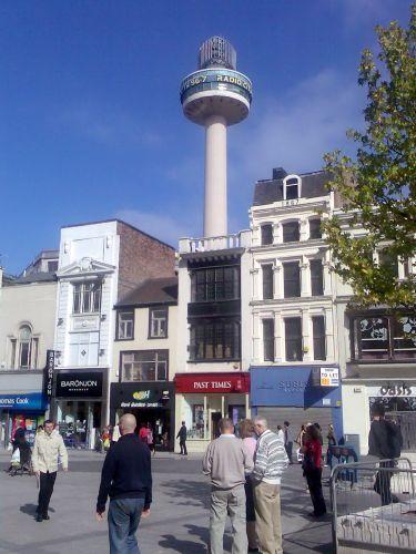 Zdjęcia: Liverpool, Anglia, Wieża radiowa, WIELKA BRYTANIA