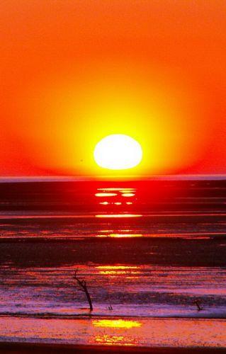 Zdjęcia: Fleetwood, Anglia, Zachód słońca, WIELKA BRYTANIA