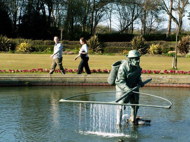 Zdjęcia: Lytham, Anglia, W parku, WIELKA BRYTANIA