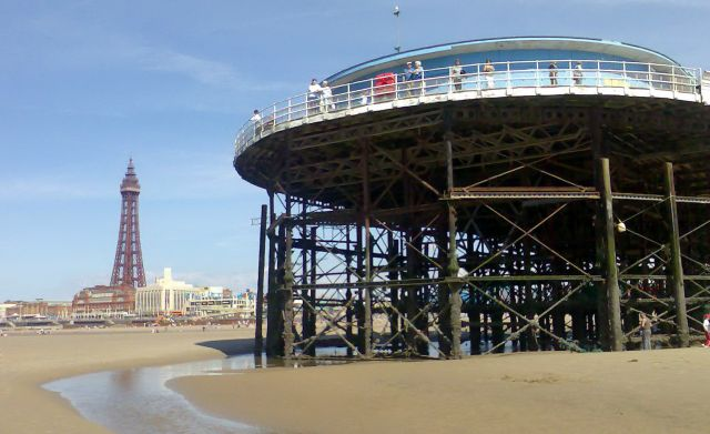 Zdjęcia: Blackpool, Anglia, Głowica molo, WIELKA BRYTANIA
