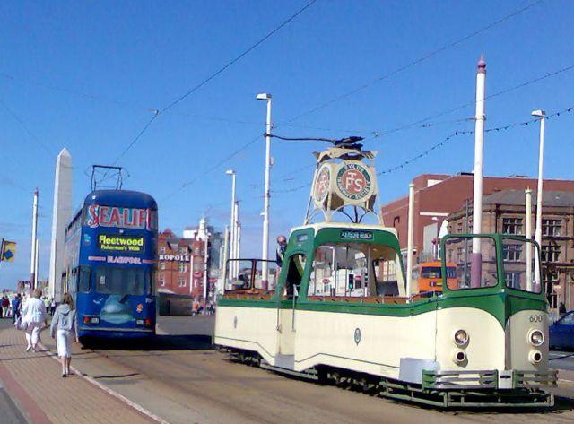 Zdjęcia: Blackpool, Anglia, Tramwaje, WIELKA BRYTANIA
