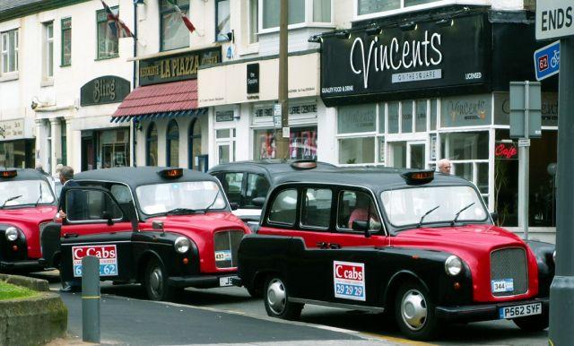 Zdjęcia: Blackpool, Anglia, Angielskie taksówki, WIELKA BRYTANIA