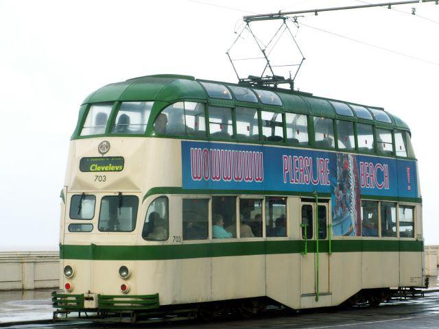 Zdjęcia: Blackpool, Anglia, Tramwaj 04, WIELKA BRYTANIA