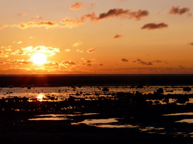 Zdjęcia: Blackpool, Anglia, Zachód słońca 03, WIELKA BRYTANIA