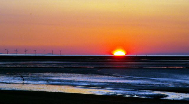 Zdjęcia: Fleetwood, Anglia, Zachód słońca 10, WIELKA BRYTANIA