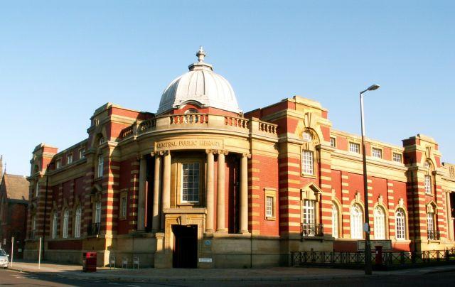 Zdjęcia: Blackpool, Anglia, Biblioteka, WIELKA BRYTANIA