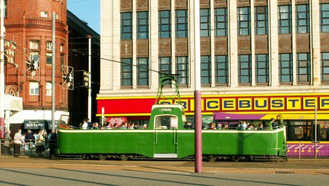 Zdjęcia: Blackpool, Anglia, Tramwaj 05, WIELKA BRYTANIA