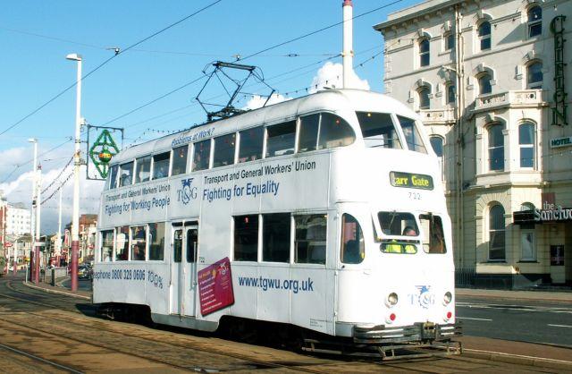 Zdjęcia: Blackpool, Anglia, Tramwaj 06, WIELKA BRYTANIA