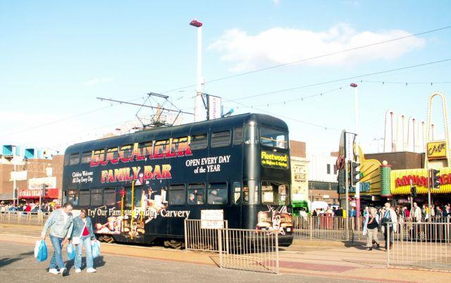 Zdjęcia: Blackpool, Anglia, Tramwaj 07, WIELKA BRYTANIA