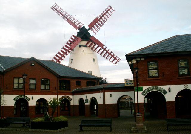 Zdjęcia: Blackpool/Thornton, Anglia, Wiatrak 03, WIELKA BRYTANIA