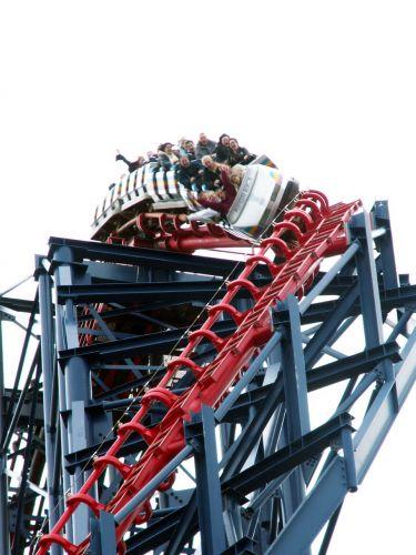 Zdjęcia: Blackpool, Anglia, Rollercoaster, WIELKA BRYTANIA