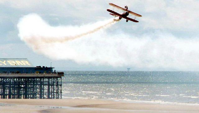 Zdjęcia: Blackpool, Anglia, Air show 03, WIELKA BRYTANIA