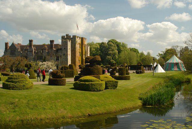 Zdjęcia: Hever, Kent, Hever Castle, WIELKA BRYTANIA