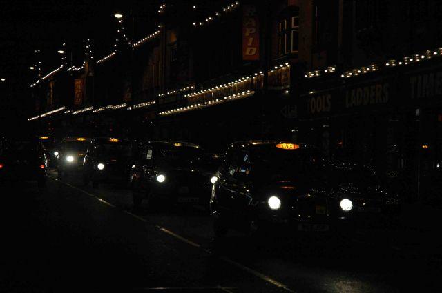 Zdjęcia: liverpool, lime street by night, WIELKA BRYTANIA