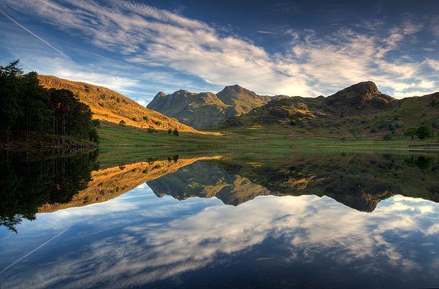 Zdjęcia: Lake District, Cumbria, Blea Tarn, WIELKA BRYTANIA