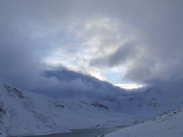 Zdjęcia: snowdonia, Snowdonia, zima, WIELKA BRYTANIA