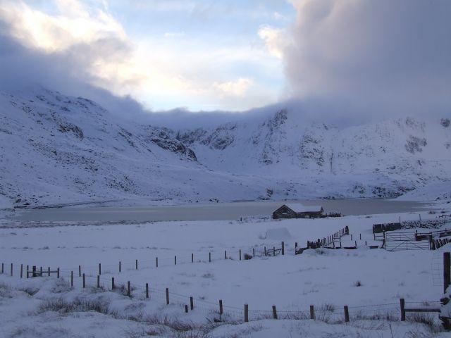 Zdjęcia: snowdonia, Snowdonia, zima2, WIELKA BRYTANIA