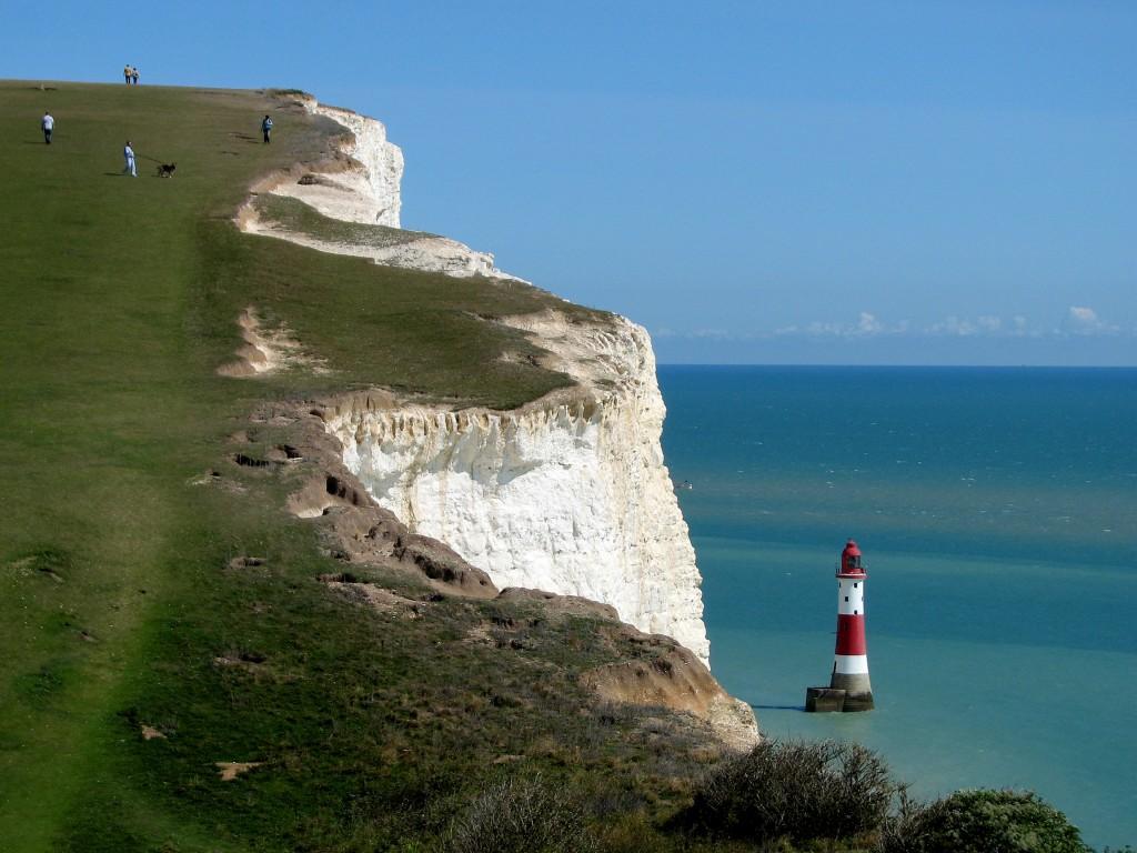 Zdjęcia: Eastbourne, hrabstwo East Sussex, Beachy Head, WIELKA BRYTANIA