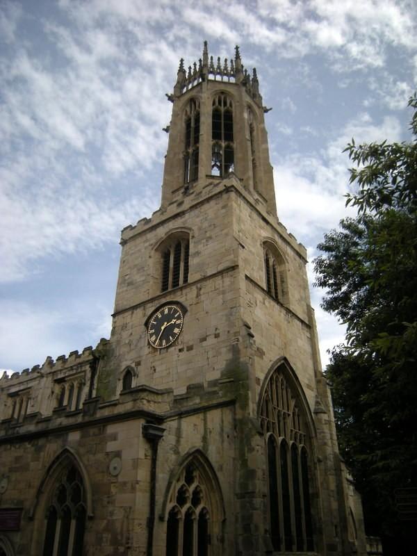 Zdjęcia: York , Yorkshire, Wieża York Minister, WIELKA BRYTANIA