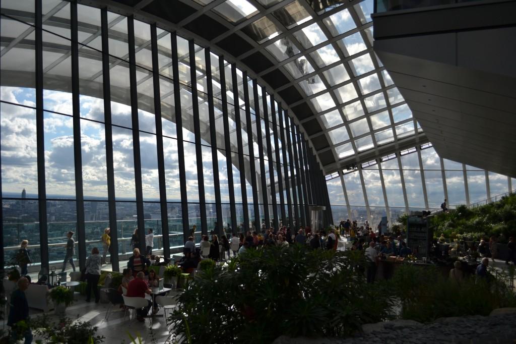 Zdjęcia: London, The Sky Garden, WIELKA BRYTANIA